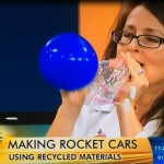 Make a Recycled Bottle Balloon Racecar