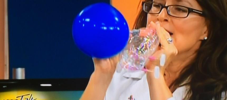 Make a Recycled Bottle Balloon Racecar