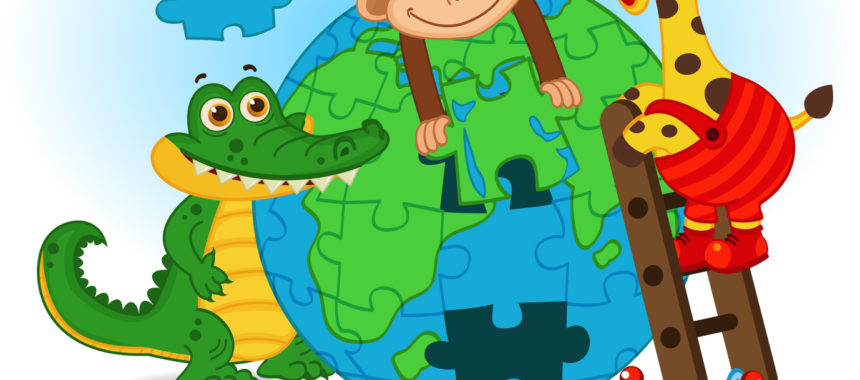 Make a Giant Earth Puzzle
