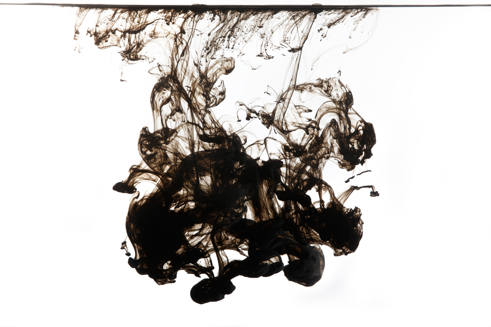 Experiment With Squid Ink on Water Is 3 Experiments For Kids