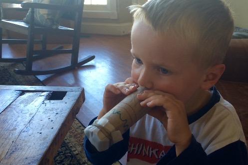 Make a Kazoo from a Recycled Cardboard Tube