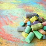 Make Sidewalk Chalk