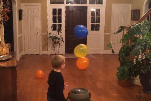 "Launch ""Magic"" Balloons"